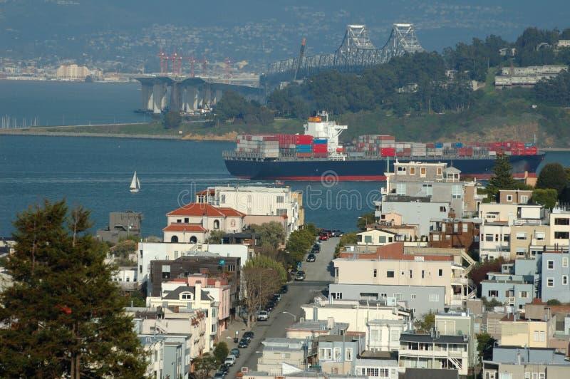 Cityscape van San Francisco royalty-vrije stock foto