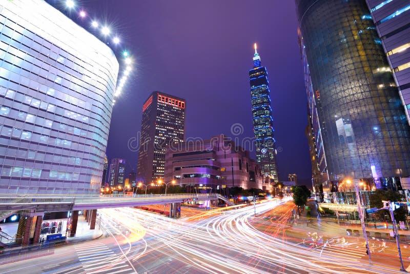 Cityscape van Taiwan stock afbeelding