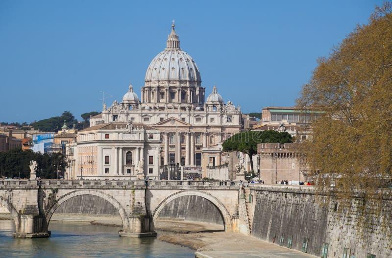 Cityscape van Vatikaan royalty-vrije stock foto's