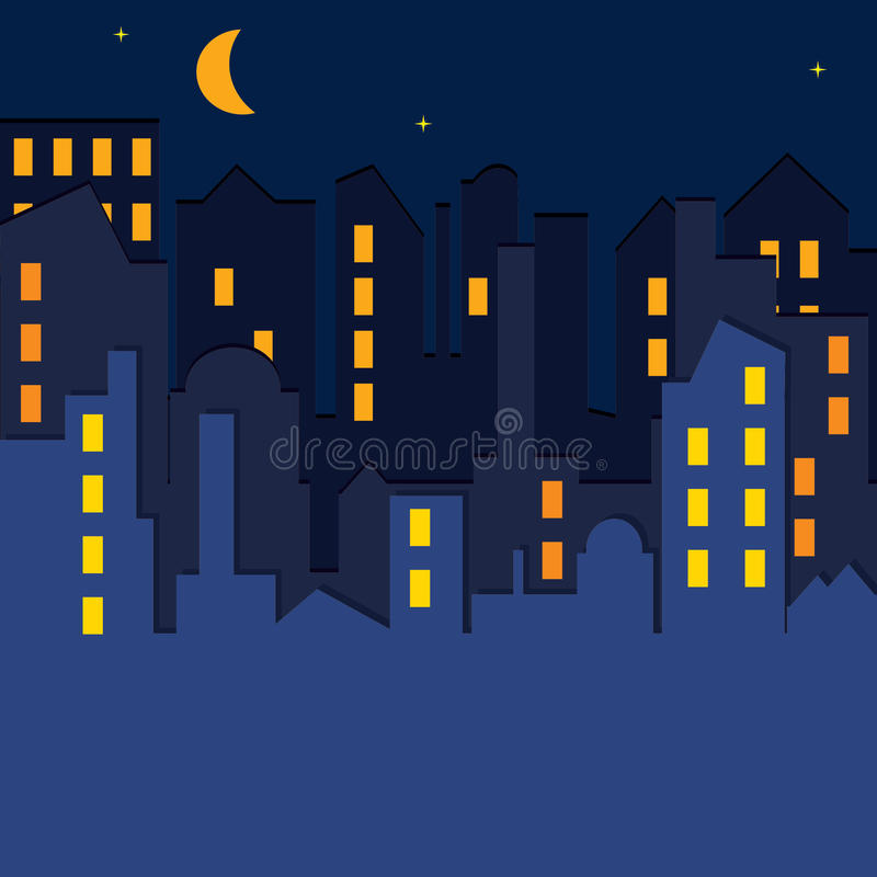 Download Cityscape. Vector Illustration. Royalty Free Stock Photos - Image: 20349668