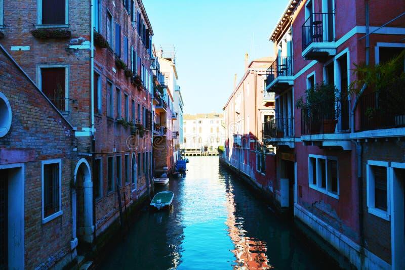 Cityscape in Venetië, Italië, Europa royalty-vrije stock fotografie