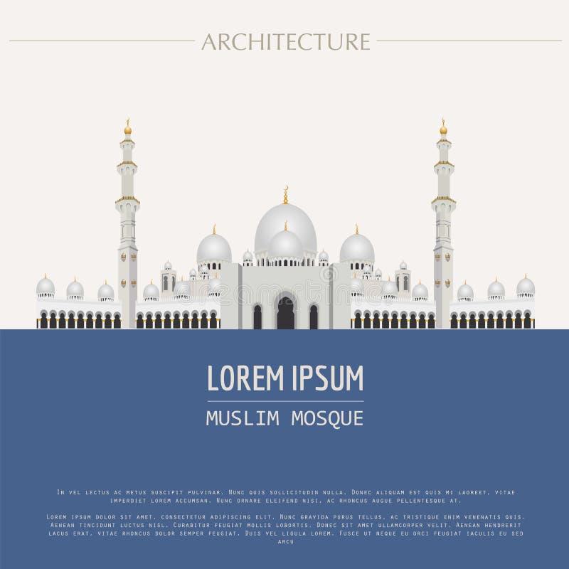 Cityscapediagrammall modern arkitekturstad Vektor dåligt stock illustrationer