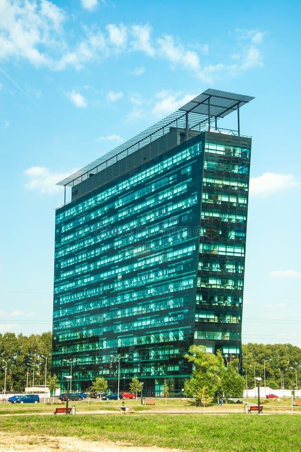 Download Cityscapekontorsbyggnadar arkivfoto. Bild av facade, högt - 27281158