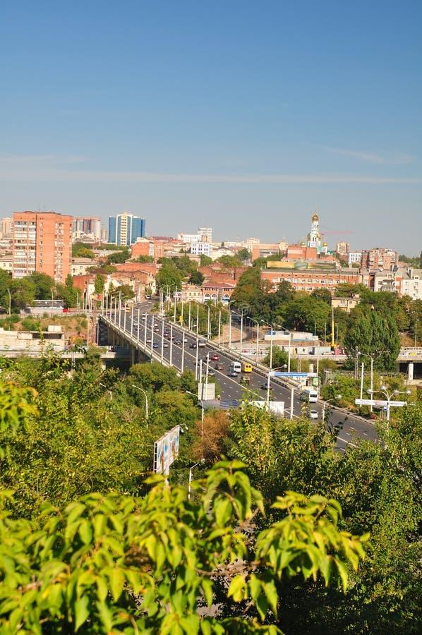 cityscapeuniversitetslärarerostov russia fotografering för bildbyråer