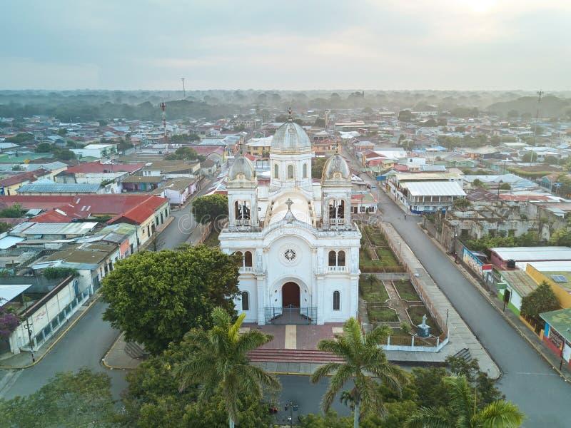 Cityscpe της πόλης diriamba στοκ εικόνες