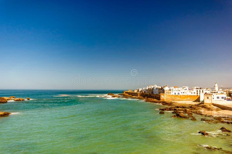 Cityscpe of Essaouira in Morocco. View of cityscpe of Essaouira in Morocco stock photography