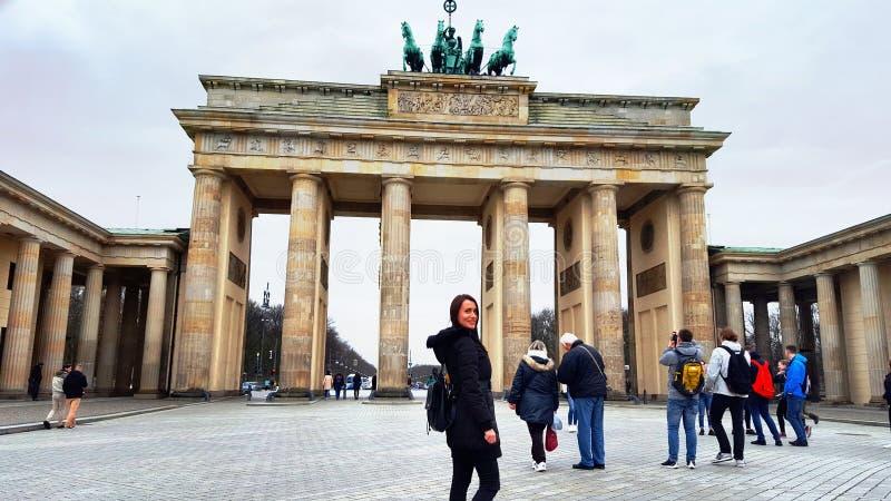 citysight de Berlim bonito imagens de stock