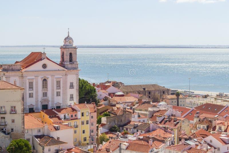 Cityview της Λισσαβώνας στοκ φωτογραφίες με δικαίωμα ελεύθερης χρήσης