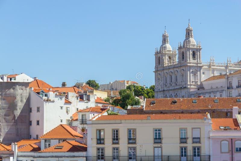 Cityview της Λισσαβώνας στοκ εικόνες
