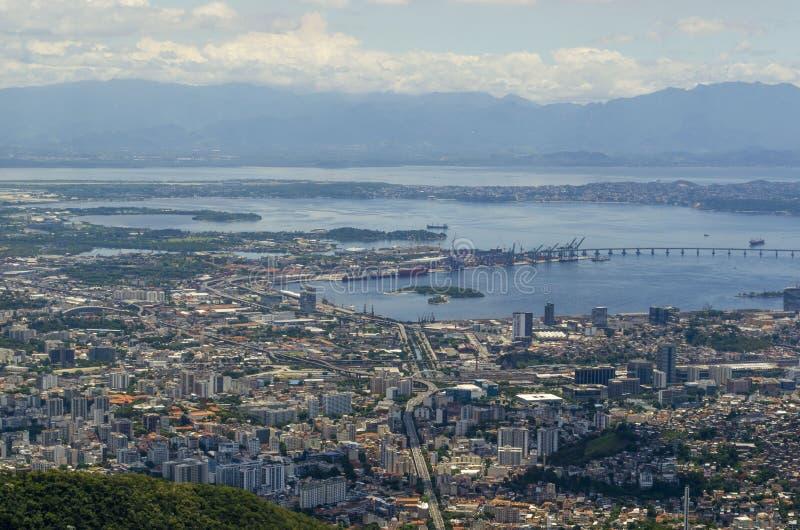 Cityview Рио-де-Жанейро стоковое изображение