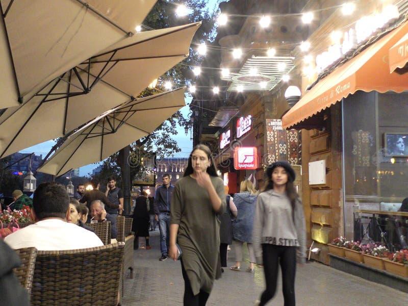 Cityview de Armênia, Yerevan fotos de stock royalty free