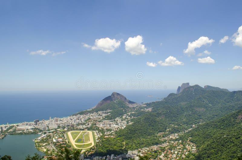 Cityview de Rio de Janeiro fotos de archivo