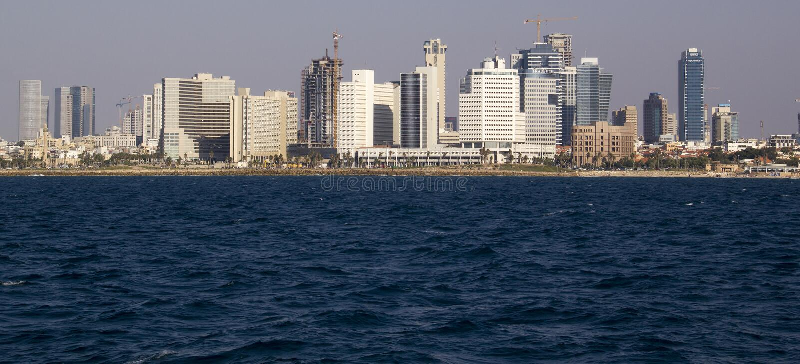 Cityview Tel Aviv l'israel photos stock