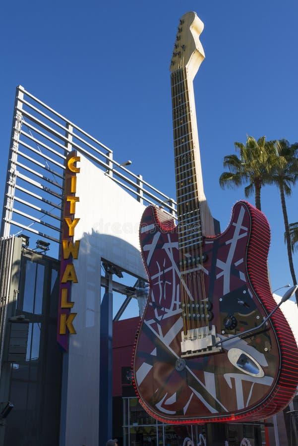 Citywalk California foto de archivo