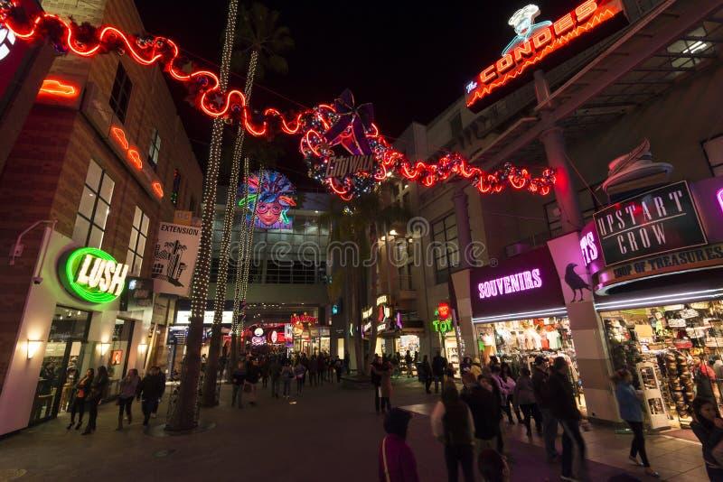 Citywalk California imagen de archivo libre de regalías