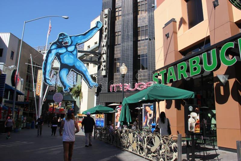 CityWalk universal Hollywood foto de archivo