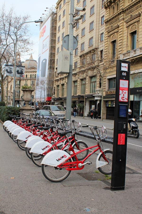 Citywide Bike Rentals Editorial Image