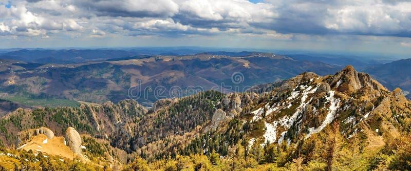 Ciucas山在罗马尼亚 免版税图库摄影