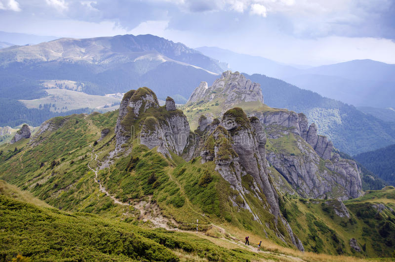 Ciucas berg arkivbilder