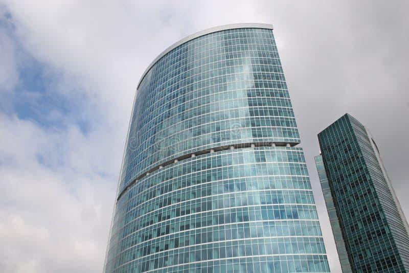 Ciudad 2 de Moscú del rascacielos fotografía de archivo libre de regalías