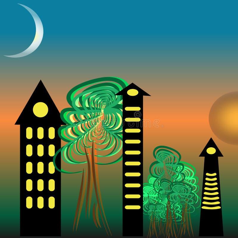 Ciudad libre illustration
