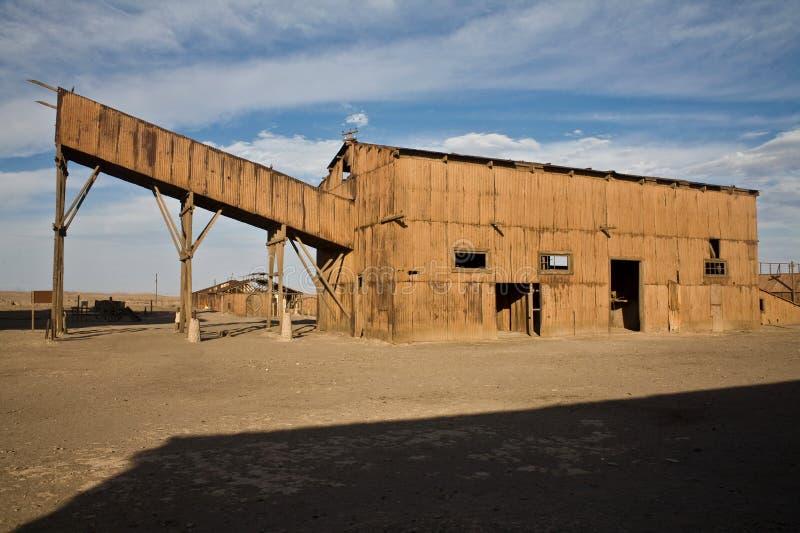 Ciudad abandonada - Santa Laura y Humberstone imagen de archivo libre de regalías