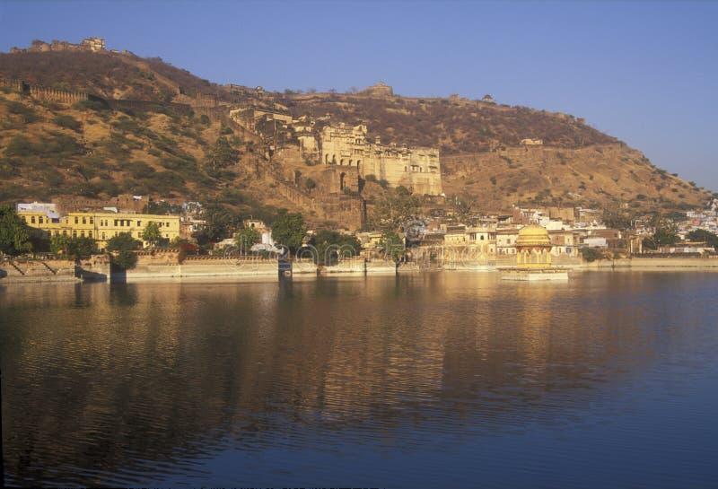 Ciudad antigua de Bundi imagenes de archivo