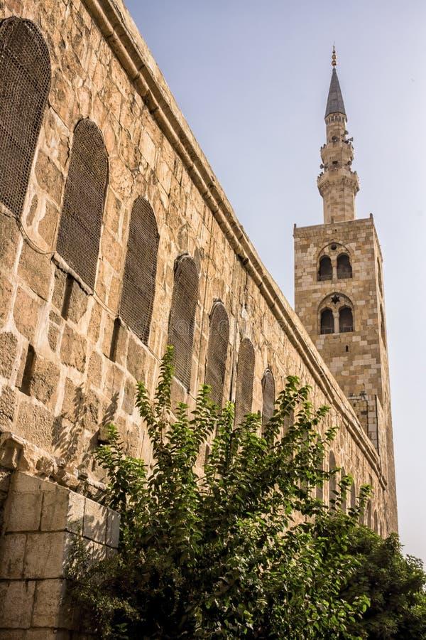 Ciudad antigua de Damasco fotos de archivo libres de regalías
