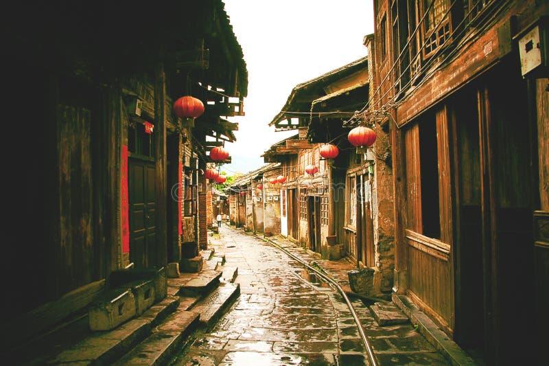 Ciudad antigua de Daxu foto de archivo