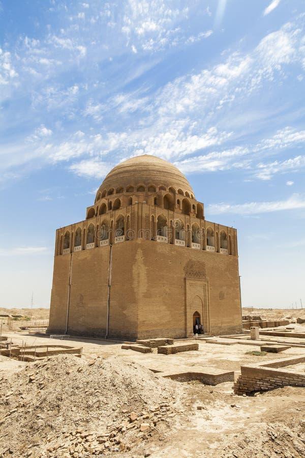 Ciudad antigua de Merv en Turkmenistán imágenes de archivo libres de regalías