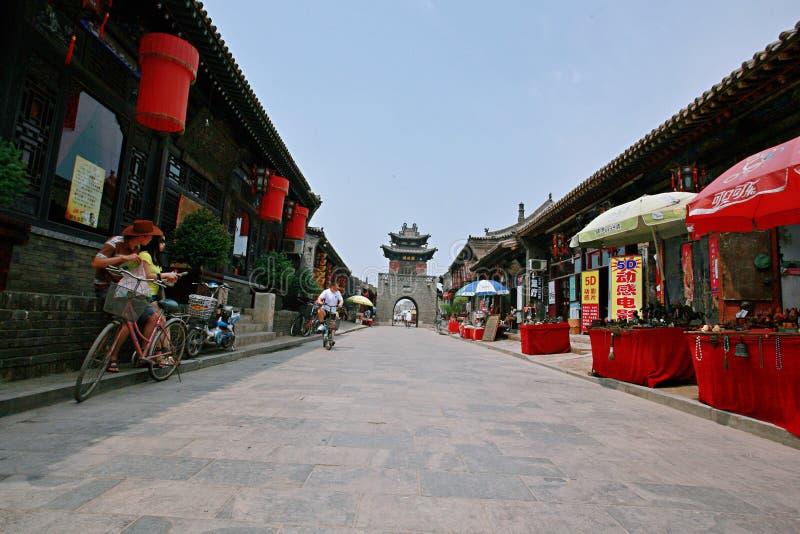 Ciudad antigua de Pingyao foto de archivo