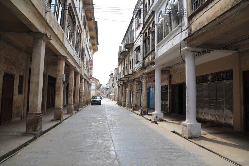 Ciudad antigua de Songkou en China fotos de archivo libres de regalías