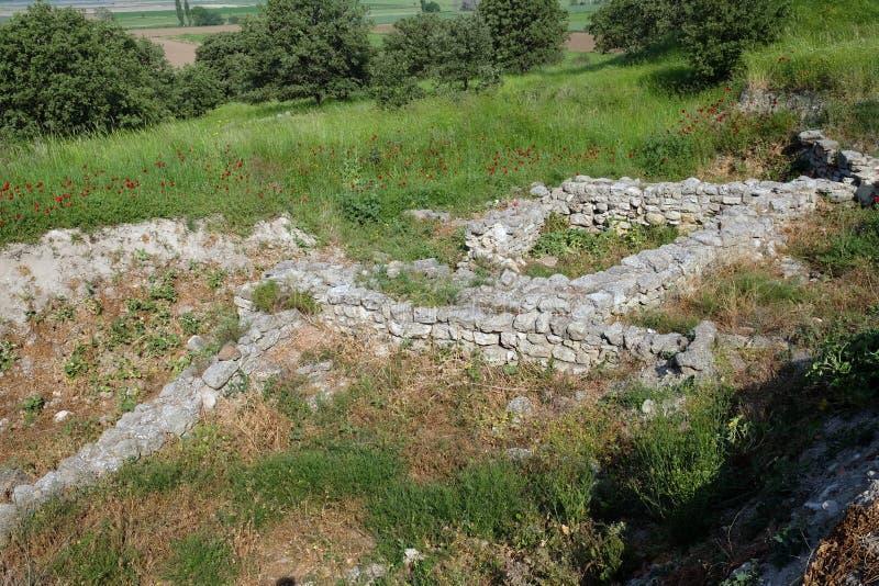 Ciudad antigua de Troy fotos de archivo