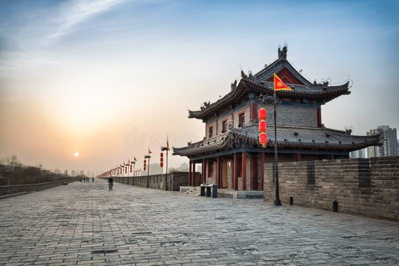 Ciudad antigua de xian foto de archivo libre de regalías