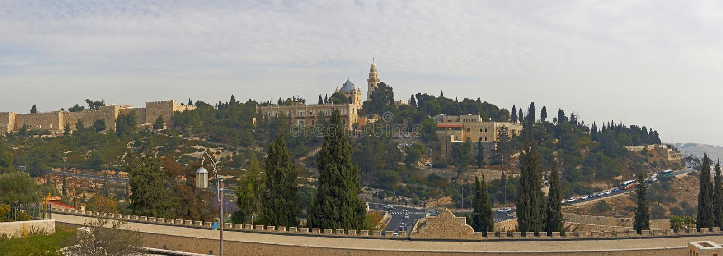 Ciudad antigua Jerusalén Israel imagen de archivo