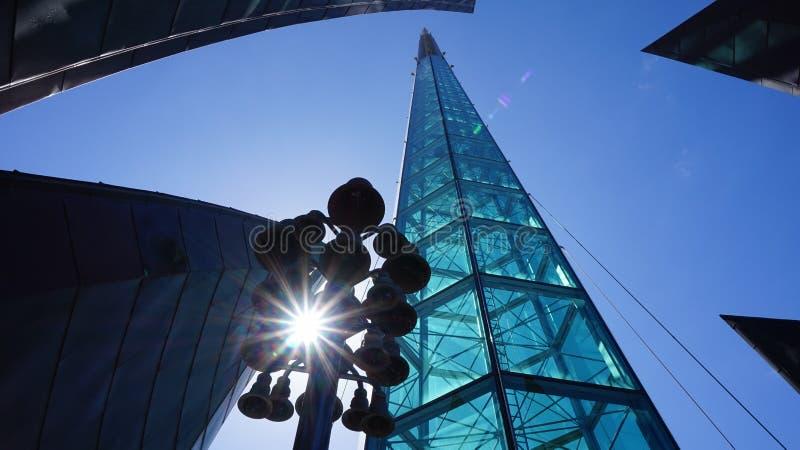 Ciudad Australia de Melbourne de la torre de la calle fotos de archivo libres de regalías