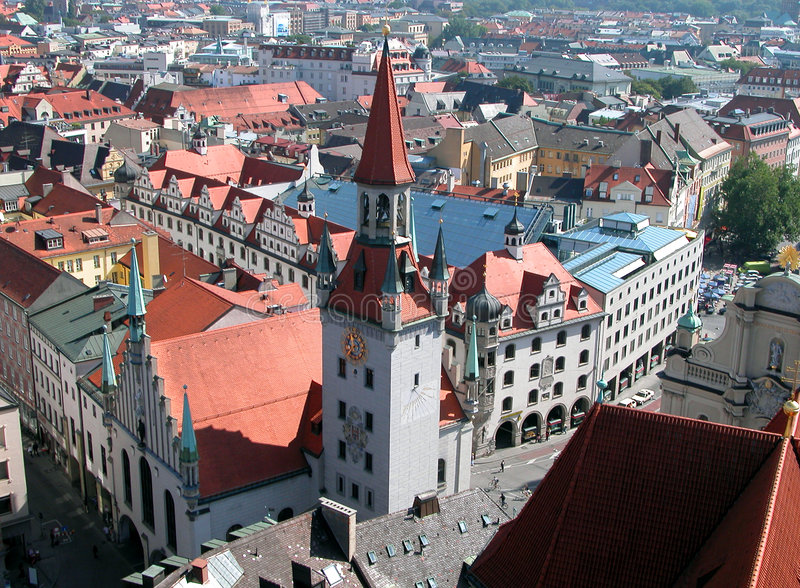 Ciudad bávara imágenes de archivo libres de regalías