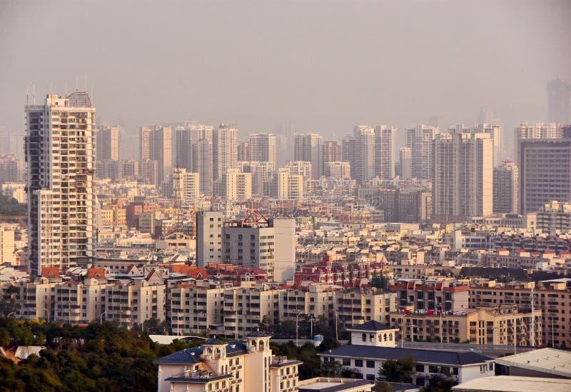 Ciudad china imagenes de archivo