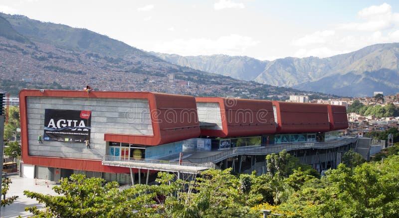Ciudad colombiana de Medellin en Colombia imagen de archivo