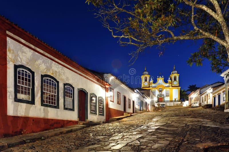 Ciudad colonial imagenes de archivo
