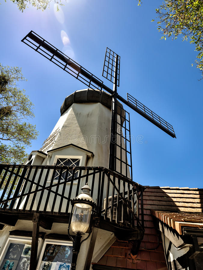 Ciudad danesa de Solvang en California imágenes de archivo libres de regalías
