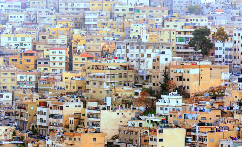 Ciudad de Amman foto de archivo libre de regalías