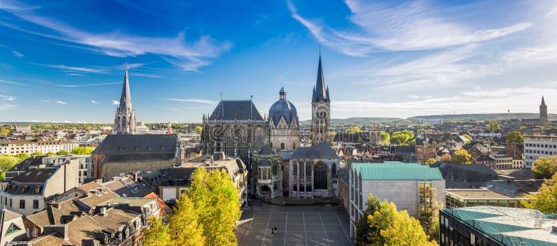 Ciudad de Aquisgrán, Alemania foto de archivo libre de regalías
