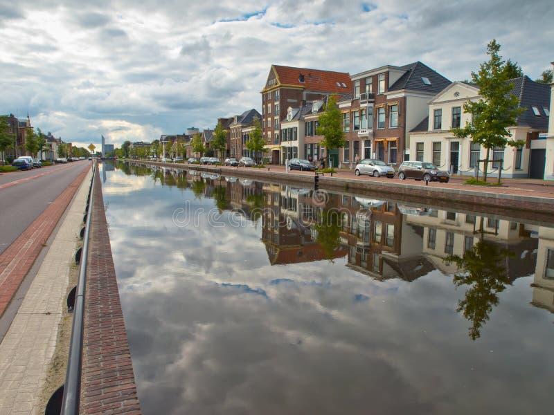 Ciudad de Assen en los Países Bajos foto de archivo libre de regalías