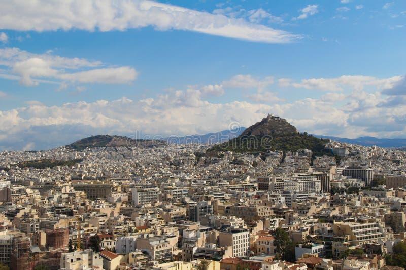 Ciudad de Atenas, Grecia imagenes de archivo