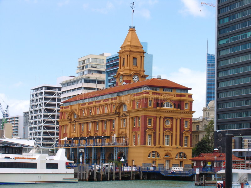 Ciudad de Auckland imagenes de archivo