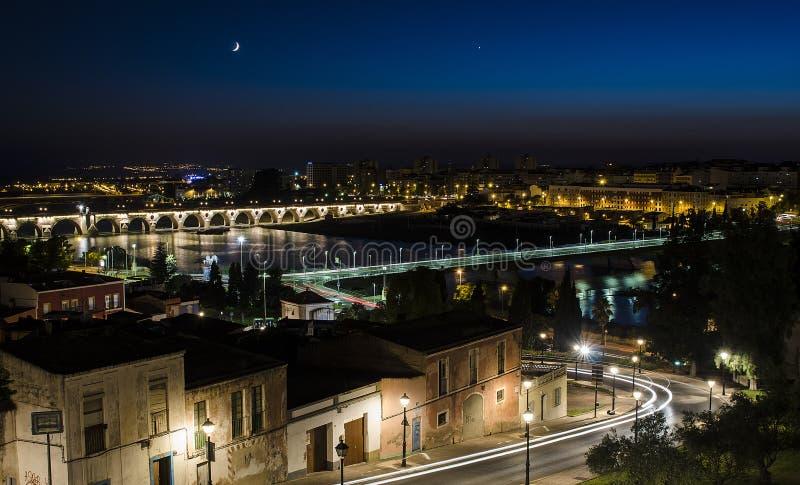 Ciudad de Badajoz imagen de archivo