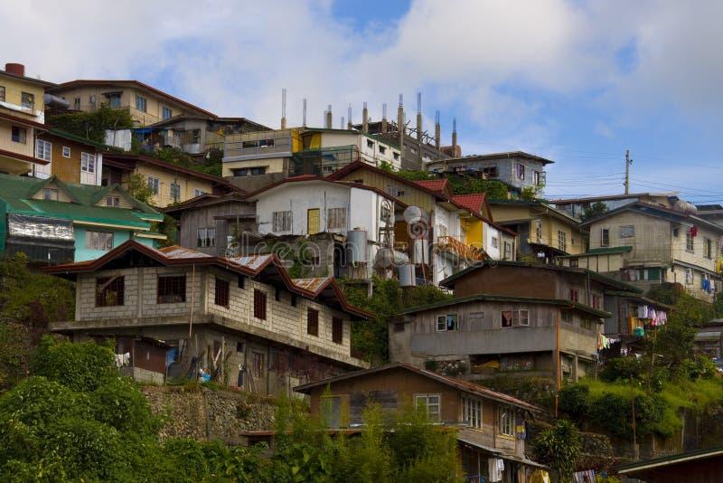 Ciudad de Baguio, el Pilipinas imagenes de archivo