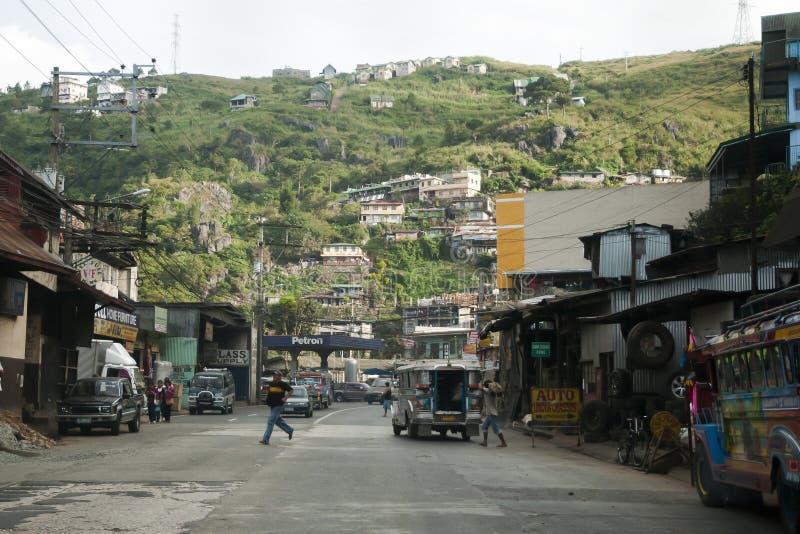 CIUDAD de BAGUIO, FILIPINAS - 28 de diciembre de 2011: foto de archivo