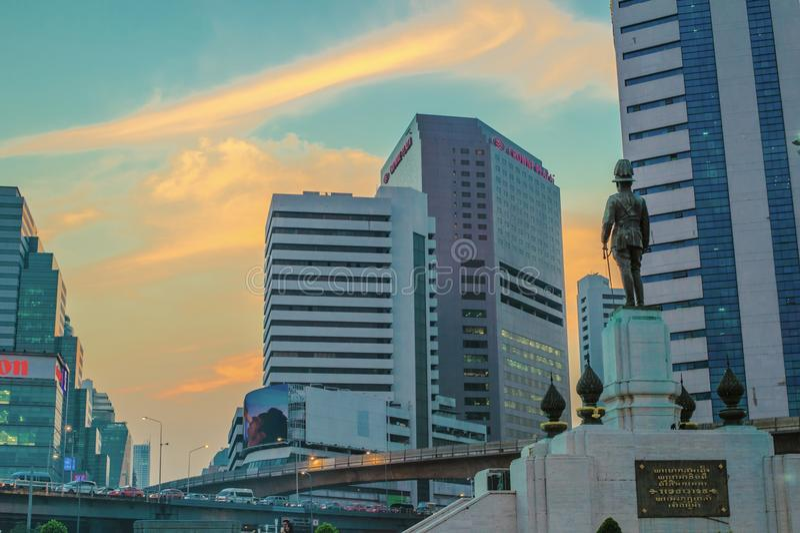 Ciudad de Bangkok foto de archivo libre de regalías